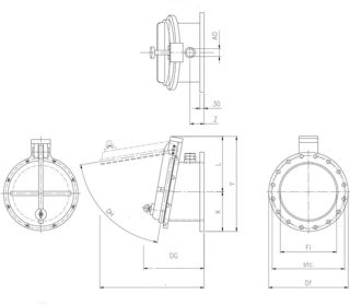 flap-valve-drawing-for-pressure-pipe-applications