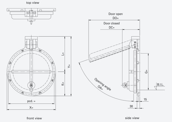 hdpe-flap-valve-stainless-hardware-wall-mount-model